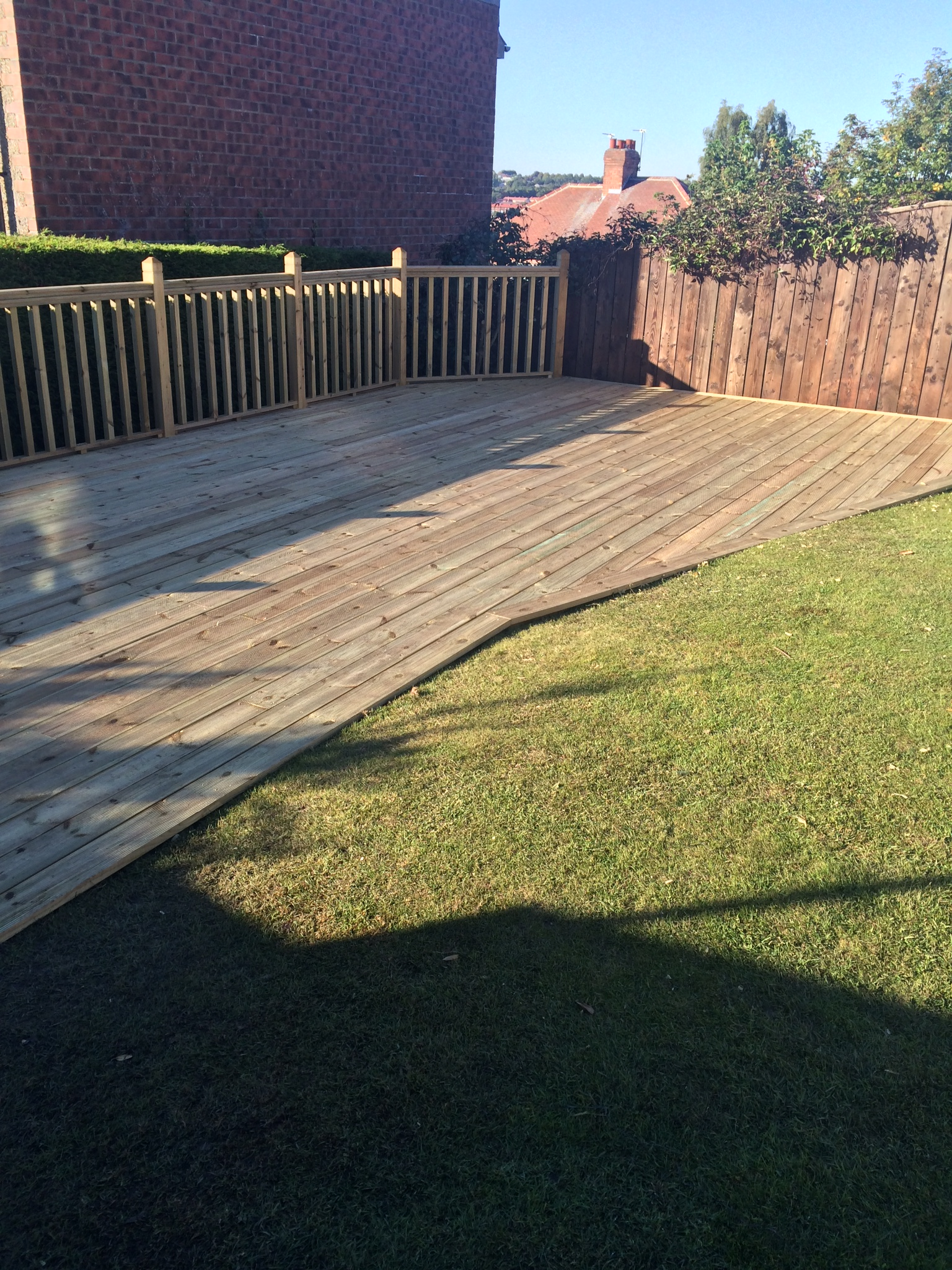joinery timber decking in newcastle upon tyne jpc joinery